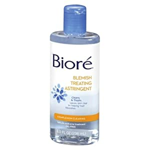 Biore Blemish Treating Astringent Complexion Clearing 8 Oz.