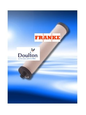 Replacement filter For Franke FRX02 Doulton M15
