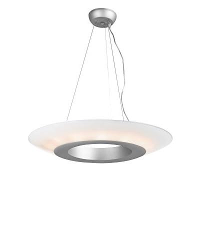 Access Lighting Nebula 14-Light Pendant, Satin Finish/Opal Glass Shade