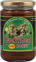 Raw Buckwheat Honey - 13.5 oz - Paste