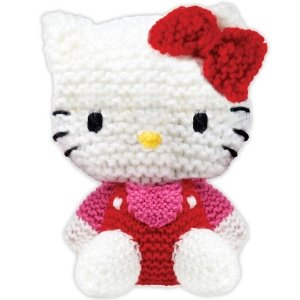 HELLO KITTY DOLL FREE KNITTING PATTERN - VERY SIMPLE FREE KNITTING PATTERNS