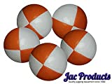 Jac Products 5 120G Thud Juggling Balls Orange White