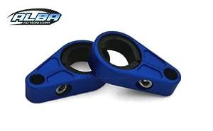 All Years Yamaha BANSHEE YFZ350 ATV Brake Line Clamps [Blue]