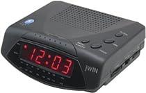 Jwin JL204BLK Am/Fm Alarm Clock Radio