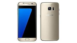 Samsung Galaxy S7 Edge G935F 32GB Factory Unlocked GSM Smartphone International Version No Warranty (Gold)