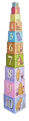 Kids Preferred Stacking Nesting Blocks Classic Pooh