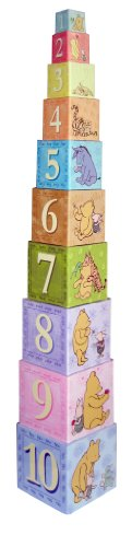 Kids Preferred Stacking Nesting Blocks, Classic Pooh