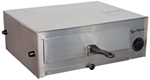 CHARD PO1000 Stainless Steel Pizza Perfector Oven with Removable Drawers Folding Handles and Crumb Tray
