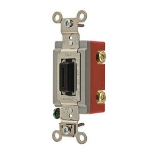 Switch, Toggle, 120-277V, 1/2 HP, Black bonatech diy mp3 toggle switch mk12c02 micro switch silver black 100pcs