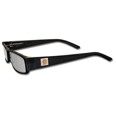 MLB Black Reading Glasses, +2.00, Detroit Tigers