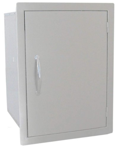 SUNSTONE DSV1724 24-Inch by 17-Inch Vertical Dry Storage with Shelf