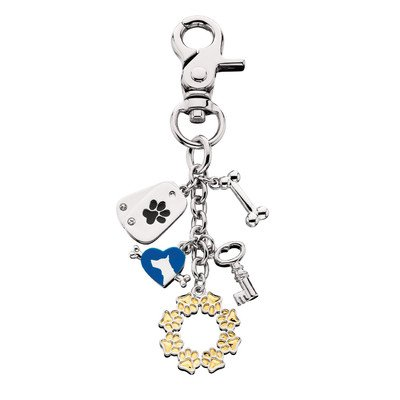 Littlegifts Gold Paw Handbag Charm