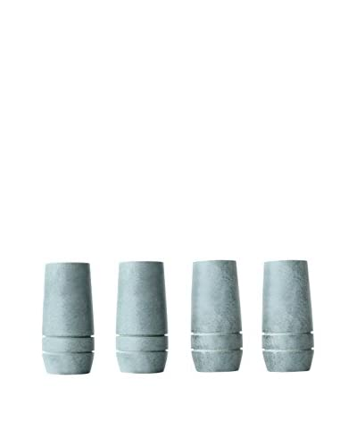 Sparq Home Set of 4 Vodka 2-Oz. Shooters with Ash Caddy
