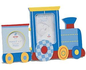 Happy Moments hinged Train Frame by Gund