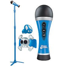 First Act Voice Rockrz Microphone And Stand - Blue