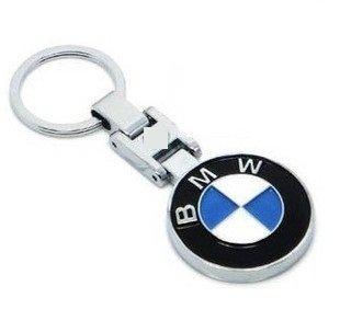 Mk BMW Logo Premium Quality Metal Keychain MTL BMW BLU