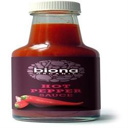 Biona Org Hot Pepper Sauce 140ml x 1
