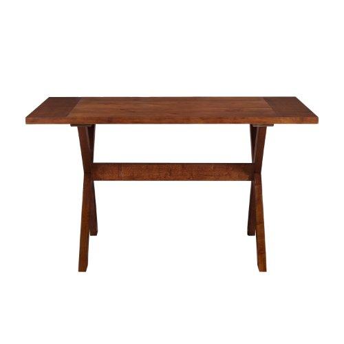 Dorel Asia Multi Functional Dining Table Dark Pine Where