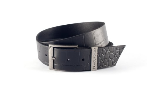 Armourdillo Classic Croc Belt,Black,X-Large