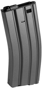 Metal Mod4/Mod16 300 Round Hi-Cap AEG Airsoft Magazine