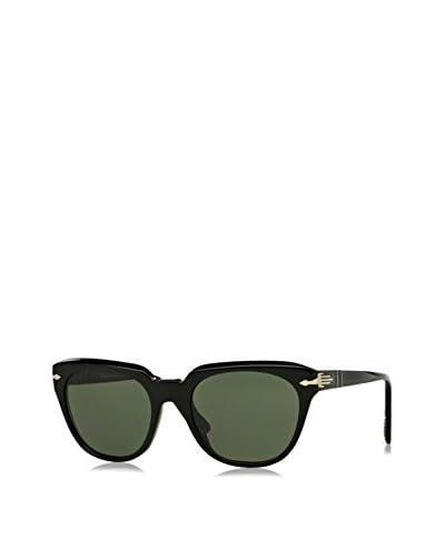 Persol Occhiali da sole Po3111S 95/ 31 (50 mm) Nero/Verde