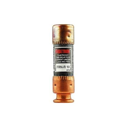 Bussmann Frn-R-10 10 Amp Fusetron Dual Element Time-Delay Current Limiting Fuse Class Rk5, 250V Ul Listed