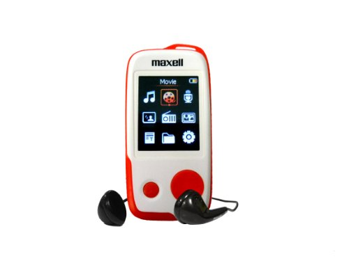 Maxell MaxMusic MP3 Player with 1.8-Inch Color Screen