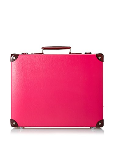Globe-Trotter Special Edition 18'' Candy Slim Attaché, Pink/Burgundy