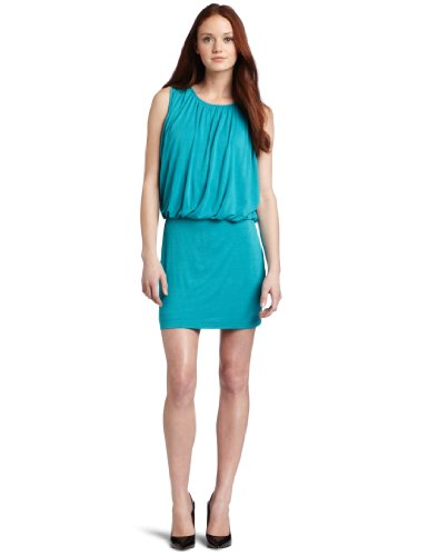 Kenneth Cole New York Women's Petite  Extended Shoulder Knit Dress