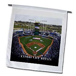 3dRose fl_100754_1 Home of The Kansas City Royals Garden Flag, 12 by 18-Inch at Amazon.com