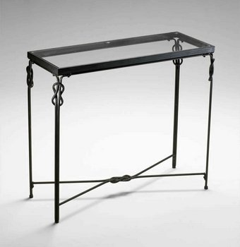 Cheap Cyan Lighting 04310 Dupont Console – Table, Rustic Iron Finish (B005LRZG10)