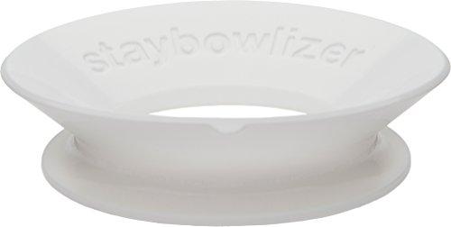 StaybowlizerTM - Staybowlizer support stable pour bols Blanc