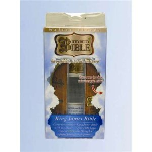 Itty Bitty Bible - Wallet Sized - King James Version - 1