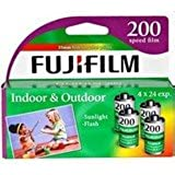 Fujifilm Super HQ 200 Speed 24 Exposure 35mm Film - 4 Pack (Discontinued by Manufacturer)