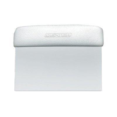 dexter-russell-sani-safe-19783-6-x-3-white-dough-cutter-scraper-with-polypropylene-handle