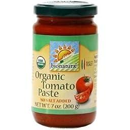 Bionaturae Organic Tomato Paste 12x7 oz