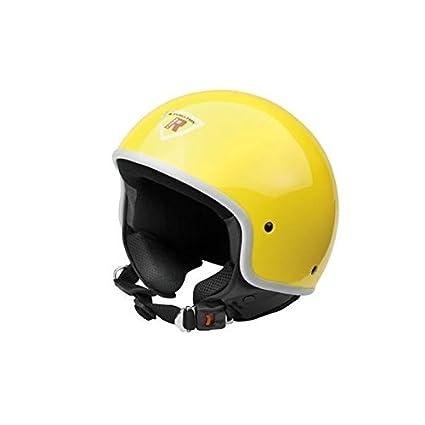 Bottari Moto 64253 Casque Custom, Jaune, Taille : M
