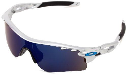 Oakley Radarlock OO9181-21 Iridium Sport Sunglasses,Silver,5