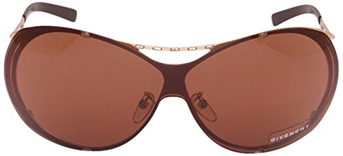 Givenchy Givenchy Oversized Sunglasses (Golden) (SGV162S|300|Medium) (Yellow)