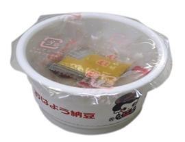 《朝食に便利!! 単価23円!!》 ひとくち粒カップ納豆 20g×50個