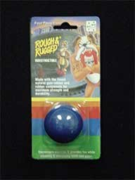 Rough And Rugged Solid Ball Dog Toy, 1 5/8