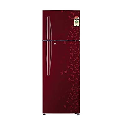 LG GL-C282RPCL Frost-free Double-door Refrigerator (255 Ltrs, 4 Star Rating, Wine Gardenia)
