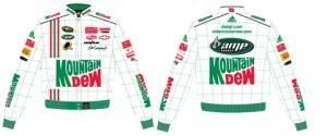 Dale Earnhardt Jr. Mountain Dew #88 Adult Twill Jacket by RacingGifts