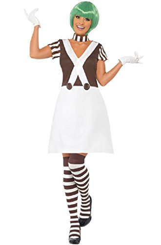 [8eighteen Willy Wonka Candy Creator Female Adult Costume] (Willy Wonka Costumes Girl)
