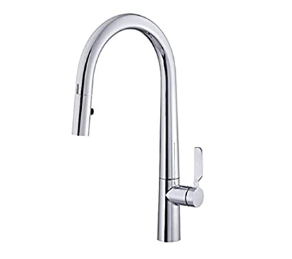 Danze D423607 Did-U-Wave Single Handle Electronic Pull-Down Kitchen Faucet with SnapBack Retraction, Chrome