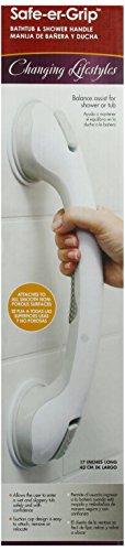 """Safe-Er-Grip Grab Bar Suction 16.5 """""""