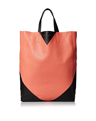 Céline Women's Colorblocked Tote, Orange/Black