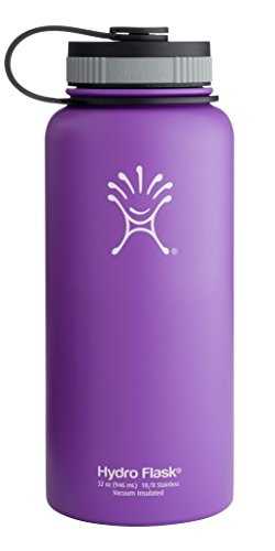 Hydro Flask Insulated Water Bottle (32 Oz. Acai Purple) front-803909