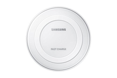 Samsung Fast Charge Qi Wireless Charging Pad - White  available at amazon for Rs.1399