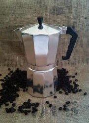 HDS Kitchen EM00329 9c Stovetop-Tabletop-Espresso Maker